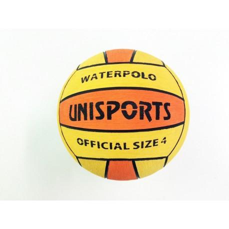 Ballon de Water Polo Compétition Bicolore Taille 4