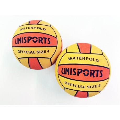 Ballon de Water Polo Compétition bicolore taille 4 - Lot de 15 ballons