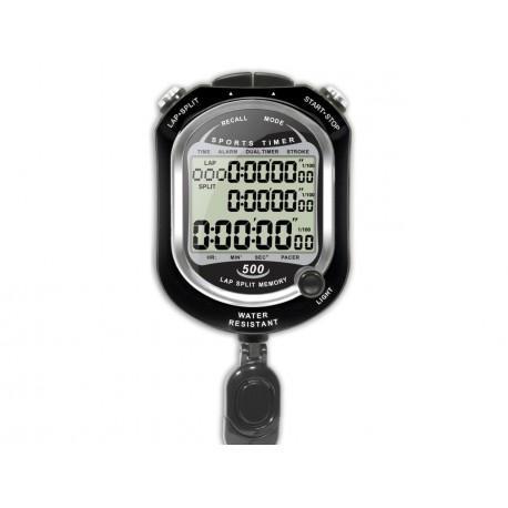 Lot 10 chronomètres 500 mémoires water resistant