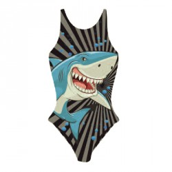Maillot femme lady shark