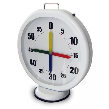Chronomètre portable 4 aiguilles pour la natation