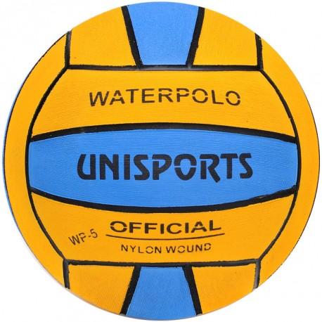 Ballon water polo competition bicolore senior taille 5
