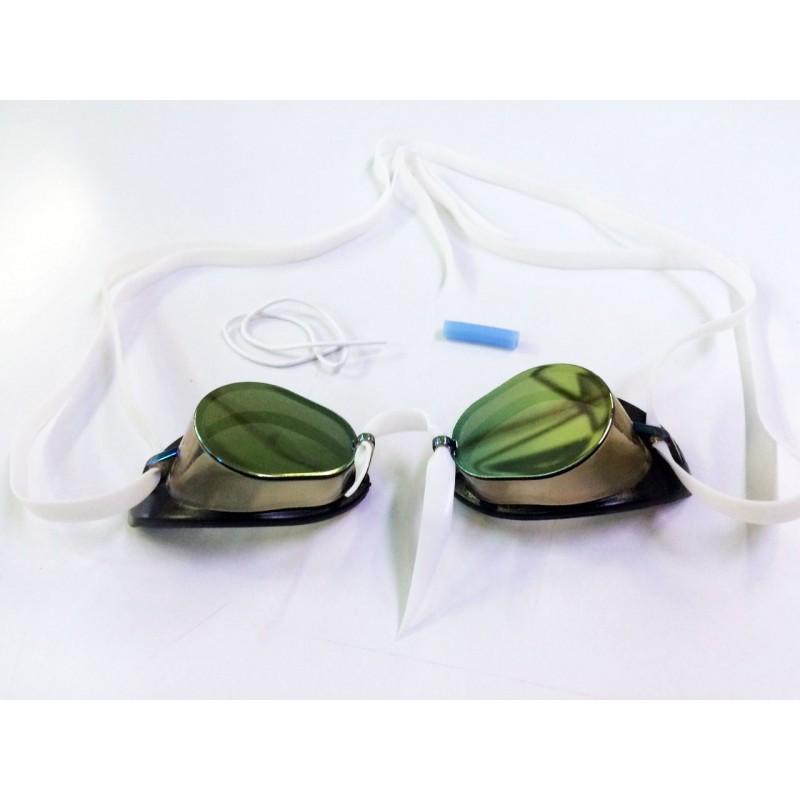 Lunette su doise miroir anti bu e lunette de natation for Lunettes piscine miroir
