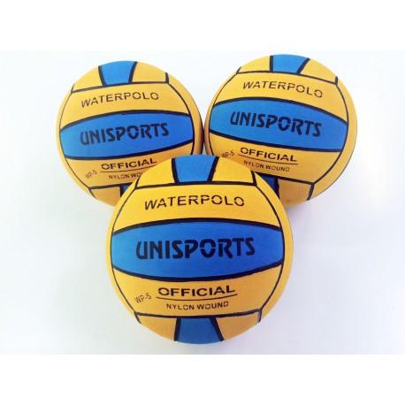 Ballons de WATER POLO bicolore competition taille 5 , Lot de 30 ballons