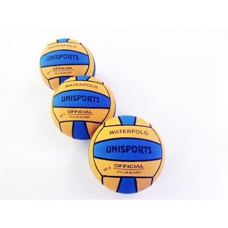 Ballons de water polo bicolore competition taille 5 , Lot de 15 ballons