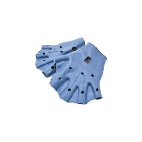 Paire de gants palmés pour aquagym