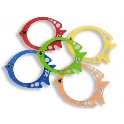Lot de 5 poissons innovation