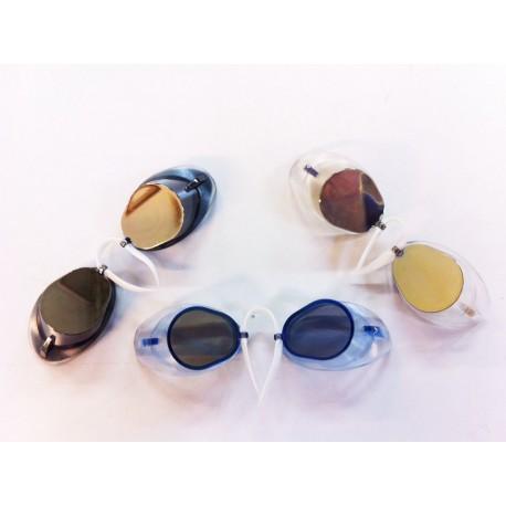 Lot de 100 paires de lunettes suedesili miroir anti buée
