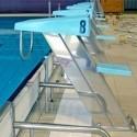 Plots de départ pour piscine
